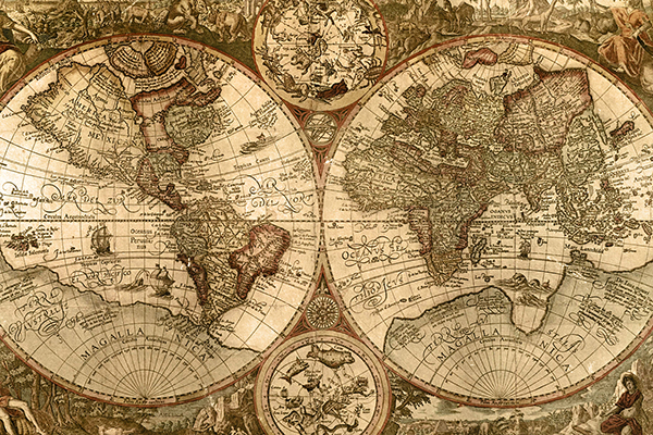 Ancient Maps and Cartography - World History