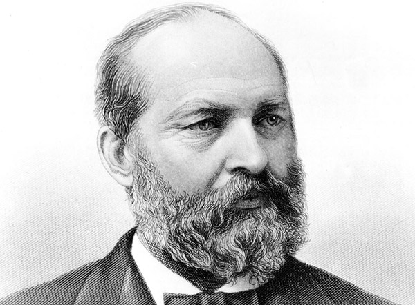 20th President of the United States: James Abram Garfield ...