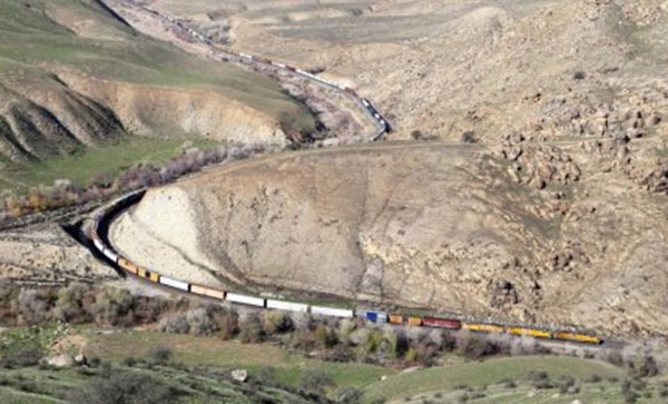 Tehachapi, CA - In the running for Rail Town USA?