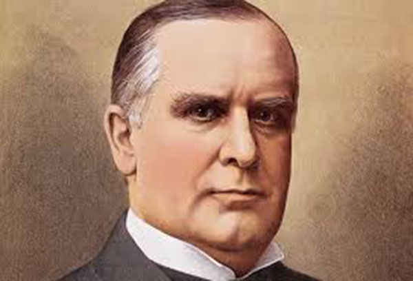 25th President of the United States: William McKinley (1897-1901)