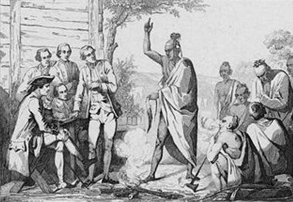 account of the interactions between the indians and the american settlers Both indians and africans represented the other to white colonists, but the record of the native american perspective on europeans and.